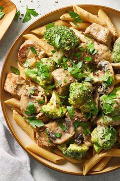 """Diabetic-Friendly Pork Stroganoff 