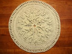 Cocteau Pattern   Accent crochet pet rug by TheWellReadCat on Etsy, $60.00