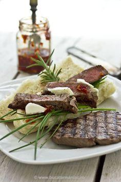 Muschiulet de vita la gratar ~ bucatar maniac My Recipes, Carne, Steak, Beef, Food, Meat, Essen, Steaks, Meals