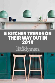 If you're making kitchen updates this year, be sure to check out these 5 kitchen trends to avoid in Plus, suggestions for what's in. Old Kitchen Tables, Ikea Kitchen, Kitchen Shelves, Kitchen Layout, Kitchen Colors, Kitchen Flooring, Kitchen Furniture, Kitchen Decor, Kitchen Design