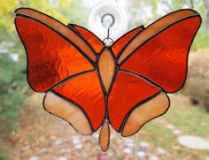 On Reserve for Karen Stained Glass Butterfly di GlassofDistinction