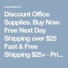 Discount Office Supplies. Buy Now. Free Next Day Shipping over $25 Fast & Free Shipping $25+ · Price Match Guarantee Brands: Sparco, Hammermill, Avery, Penel, Wescott, Esselte, Fellowes, Acco, HP, Dymo.....