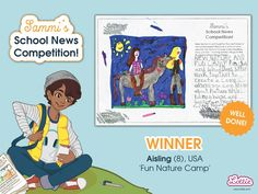 Congratulations to our Sammi School News Competition winners, whose entries featured in the Branksea school newspaper included with our Sammi doll. School Newspaper, Newspaper Article, Sports Day, School S, Toys For Girls, Competition, Congratulations, Family Guy, Activities