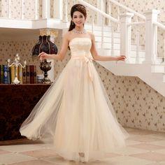 vestidos de fiesta de invierno 2013 largo color champán la princesa de encaje de la cintura delgada breve vestidos de renda festa vestido de noche