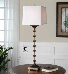 Uttermost Santona Brass Buffet Lamp