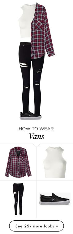 """""""Like this but to tired to finish it"""" by sydneymellark on Polyvore featuring Miss Selfridge, Versace, Rails, Vans and fallfashion"""