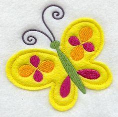 Free Applique Patterns - Angels, Flowers, Butterflies & more