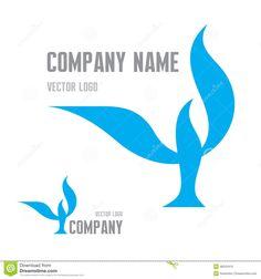 Elegant Bird Concept Logo Stock Vector - Image: 55055268