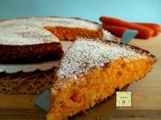 Torta di carote e mandorle, senza burro né olio