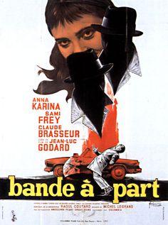 Bande à Part de Jean-Luc Godard