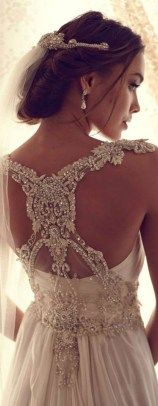 Beautiful lace wedding dresses ideas 115