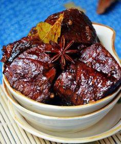 Spicy sauce beef