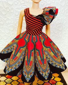 Akinduro Oluwatosin likes, 9 comments - You gotta have style. It helps you get down the stairs,It helps you get up in the morning, it's a way of life. African Dresses For Kids, Latest African Fashion Dresses, African Print Dresses, African Print Fashion, Africa Fashion, Ankara Gown Styles, Ankara Gowns, Ankara Dress, Ankara Blouse