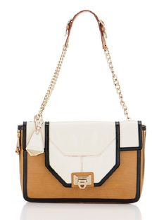Rebecca Minkoff. If I could, I'd own everything she makes, but this is one of my faves from the new collection.