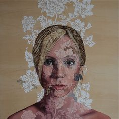 brown - woman - painting - Katherine Rohrbacher