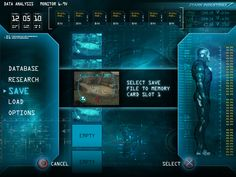 Iron Man - Wii / PSP / PS2 User Interface on Behance