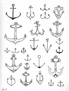Anchors. For future tattoo.