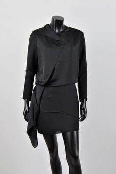 Lej denne Acne Silk Dress på RentAtrend for kun 30 kr. om dagen.  #Acne #SilkDress #dress #black #silk #fashion #secondhand
