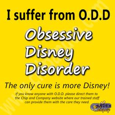 Do you suffer from O.D.D?