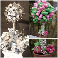 Balloon Topiary by Balloontastic Creations - mazelmoments.com