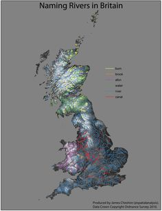 Naming RIvers in Britain - James Cheshire