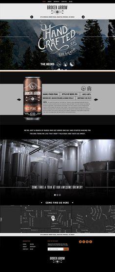 Broken Arrow Beer branding & packaging by Sam Faulkner branding