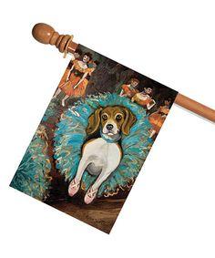 Love this Beagle Flag on #zulily! #zulilyfinds