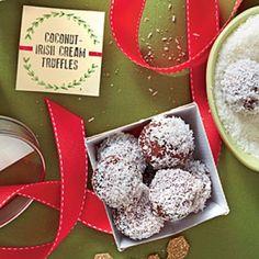 Coconut-Irish Cream Truffles