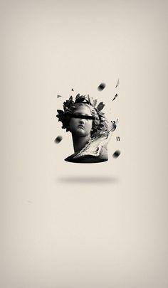 Saved by Inspirationde (inspirationde). Discover more of the best Illustration, Leonardo, Ugalde, and Maldonado inspiration on Designspiration Illustration Arte, Petit Tattoo, Vaporwave Wallpaper, Vaporwave Art, Graphisches Design, Art Antique, Glitch Art, Art Graphique, Vintage Design