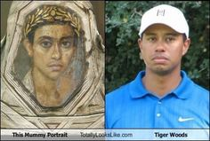 Tiger Woods look alike