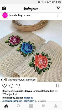 The most beautiful cross-stitch pattern - Knitting, Crochet Love Cross Stitch Letters, Cross Stitch Rose, Cross Stitch Borders, Cross Stitch Samplers, Modern Cross Stitch, Cross Stitch Flowers, Cross Stitch Embroidery, Hand Embroidery, Embroidery Patterns