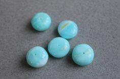 Peruvian Opal Gemstone Beads by BeadyEyedBird on Etsy, $10.00
