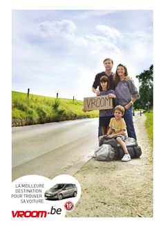 Annonce Campagne Vroom.be - 2011