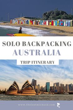 Ultimate guide to backpacking Australia Alone for the first time. Solo Australia backpacking itinerary. Where to visit in Australia. Best Australia backpacking route. Things to do in Australia | Visit Melbourne | Visit Sydney | Adventurous things to do in Australia | Visit Fraser Island #travel #australia #solobackpacking #tripitinerary Work In Australia, Visit Australia, Australia Travel, Western Australia, Visit Sydney, Visit Melbourne, Solo Travel, Travel List, Melbourne Travel