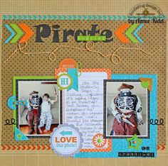 Pirate Buddies - Doodlebug Inspired by challenge Aimee Kidd