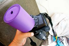 Can't see your LCD screen in the bright sunlight? Genius photo hack that travel wells and costs only $1! >>> Love this!