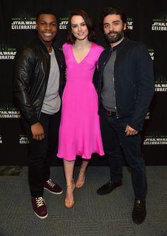 Daisy Ridley Pictures - 'Star Wars: The Force Awakens' Celebration 2015 - Zimbio