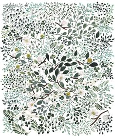a patterned illustration by Anna Emilia Latinen