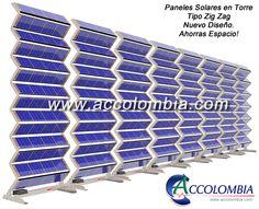 Paneles Solares 3D Torre Fotovoltaica 484W ref T-0136 policristalinas