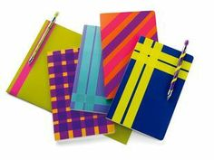 Label notebooks, folders and binders, or simply brighten up a plain notebook with Scotch® Expressions Tape