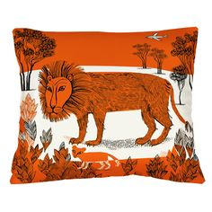 Our brand new lion cushion http://www.lushlampshades.co.uk/