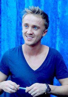 Tom Felton. His eyes are beautiful