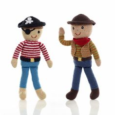 Pebble Fair Trade Doll - Cowboy.