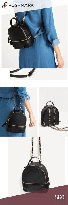 Looking to PURCHASE✨✨ Zara Convertible Backpack ISO!!! Zara Convertible Backpack ✨✨Looking to purchase, please!! Zara Bags Backpacks