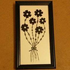 Tile Painting - Flower on tiles