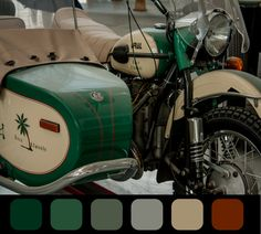 Presentation Color Palettes in Unexpected Places Read more.