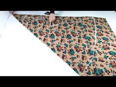 خياطة فستان راقي بطريقة مبسطه ويناسب جميع المقاسات يتفصل على الجسم - YouTube Dress Sewing Tutorials, Dress Sewing Patterns, Sewing Hacks, Clothing Patterns, Fancy Dress Design, Girls Frock Design, Sewing Collars, New Designer Dresses, Neck Designs For Suits