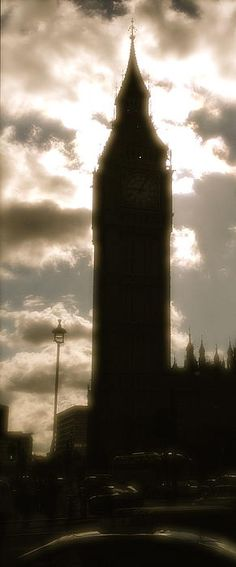 Big Ben in Silhouette Photograph by John Colley http://john-colley.artistwebsites.com/featured/big-ben-in-silhouette-john-colley.html