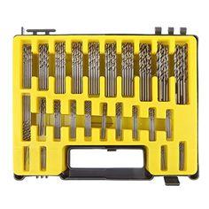 150pcs 0.4-3.2mm Drill Bit Set Small Precision With Carry Case Plastic Box Mini Hss Hand Tools Twist Drill Kit Set At All Costs Drill Bits