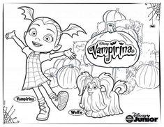 Coloriage A Imprimer Vampirina.11 Meilleures Images Du Tableau Imprimer Coloring Pages Coloring
